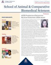 ACBS Fall 2020 Newsletter